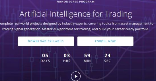 AI for Trading Nanodegree – Udacity