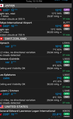 Aero Weather Pro - Best Aviation Apps for Android and iOS