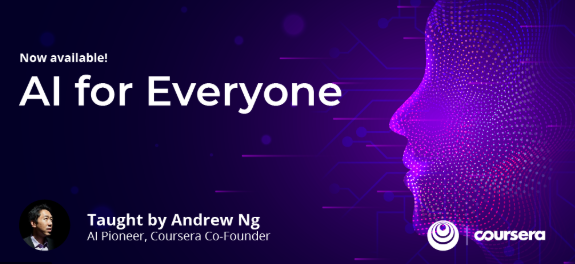 Artificial Intelligence for Everyone – Coursera