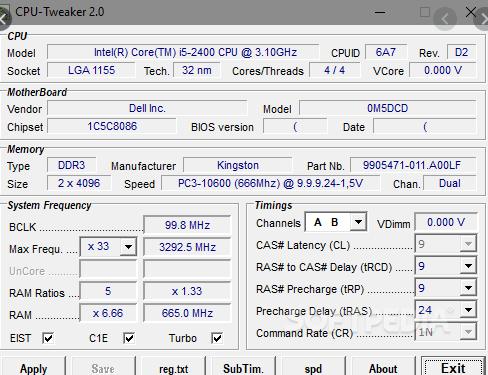 CPU Tweaker
