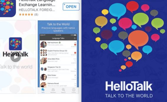 Hello Talk Chat, Speak, and Learn Foreign Languages - Android - iOS