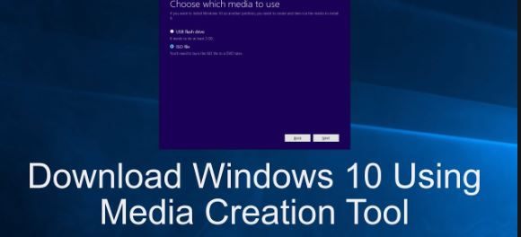 Create Windows 10 Bootable USB From ISO Using Windows Media Creation Tool