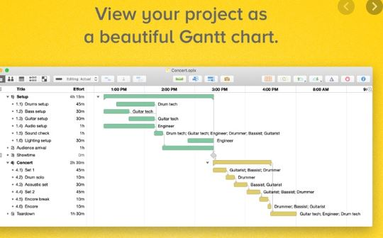 OmniPlan Project Management
