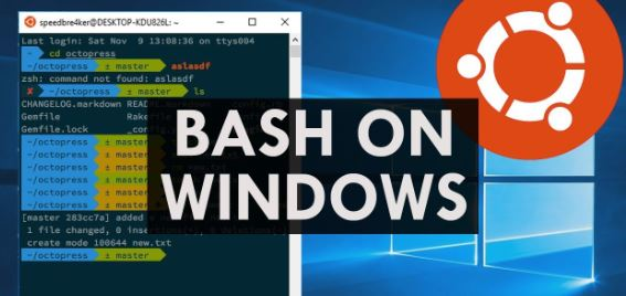 Windows 10 Bash Shell