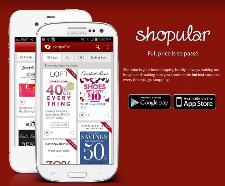 Apps for Shopping Deals
