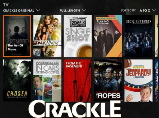 Crackle - Sites like YouTube