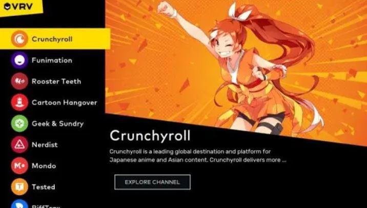 Crunchyroll / VRV / Funimation