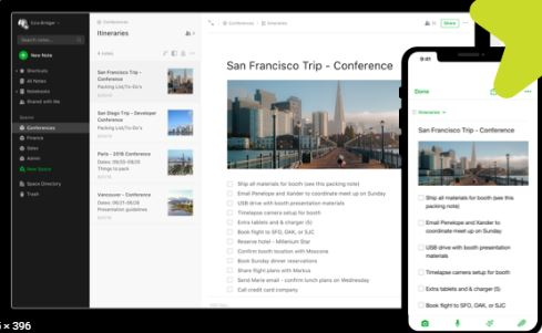 Evernote - Best Apps for Writers