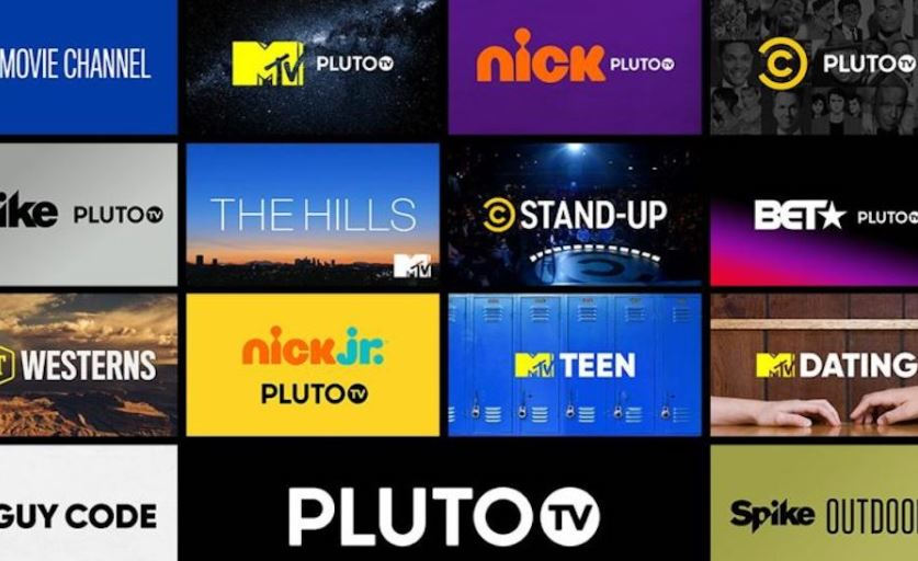 Pluto TV - Best Free Streaming Apps