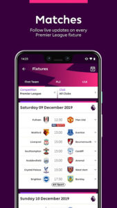Premier League Official App