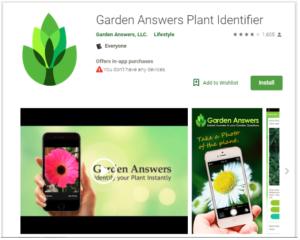 Garden Answers Plant Identifiers