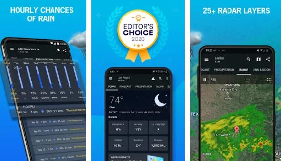 1 Weather – Best Weather Apps for Android