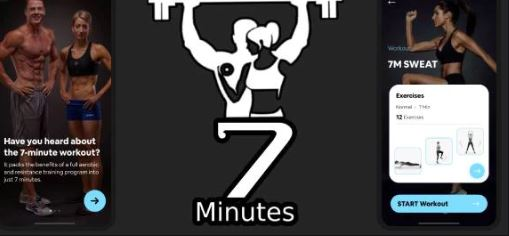 7 Minute Workout – Best Free Fitness Apps