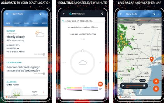 AccuWeather – Best Weather Apps for Android