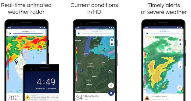 NOAA Weather – Best Weather Apps for Android