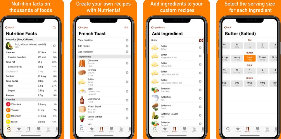 Nutrients - Best Nutrition Apps