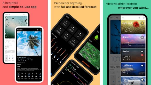 Today Weather – Best Weather Apps for Android