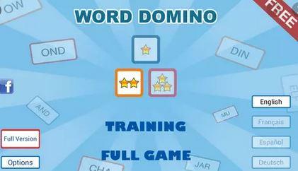 7. Word Domino Free