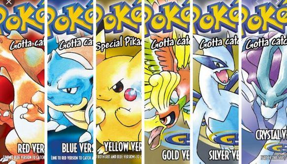Best Pokemon Games in Order