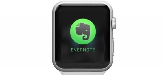 Evernote – Best iWatch Apps