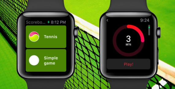 Swing Tennis Tracker – Best iWatch Apps