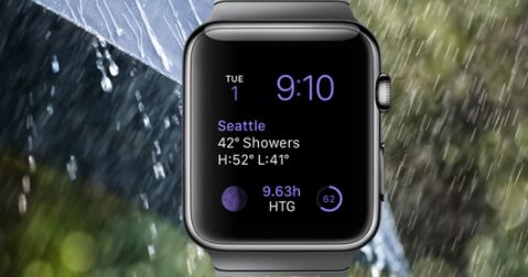 Weather – Best iWatch Apps