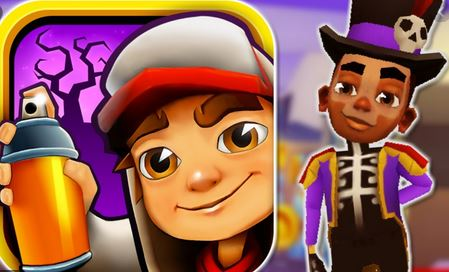 10. Subway Surfers
