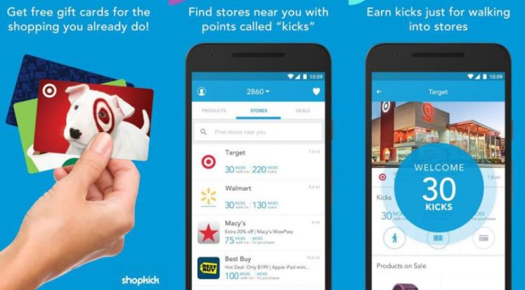 Shopkick - Best Coupon Apps